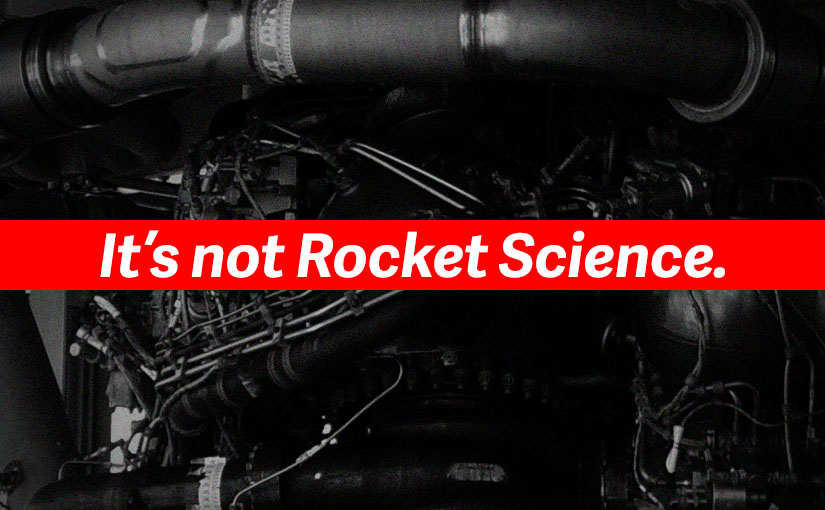 英単語 『Rocket Science(ロケット工学)』の持つもうひとつの意味