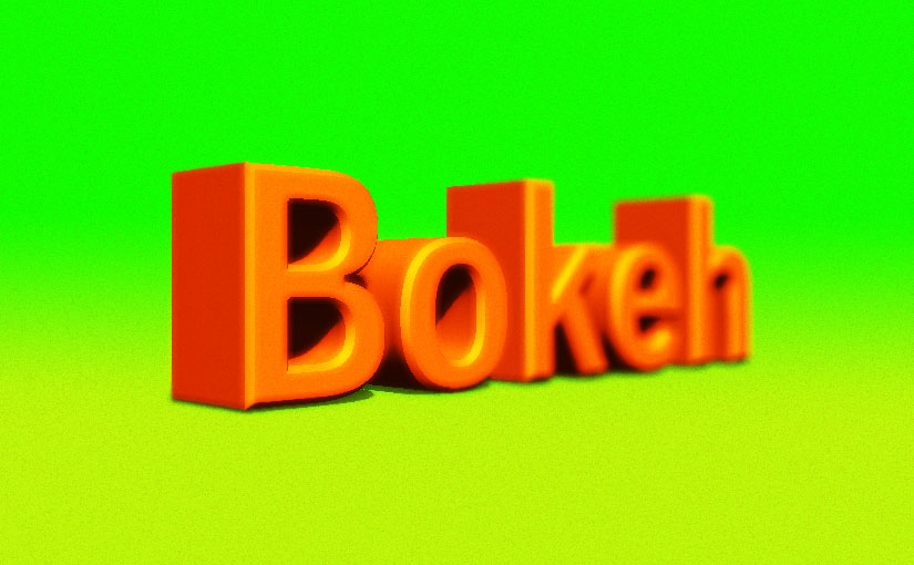 日本語から英語になった写真の専門用語『Bokeh』